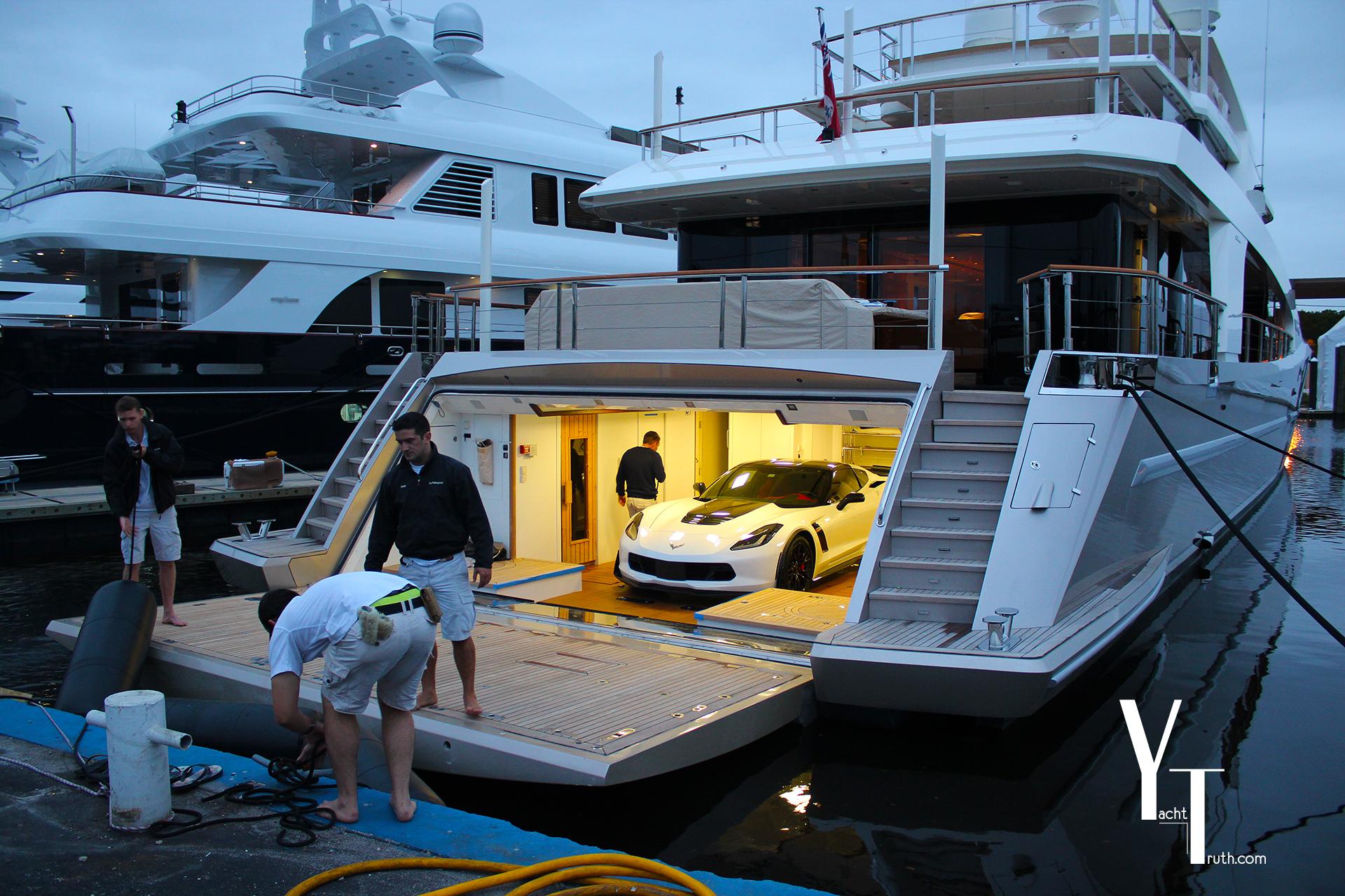 Pellegrina and Corvette